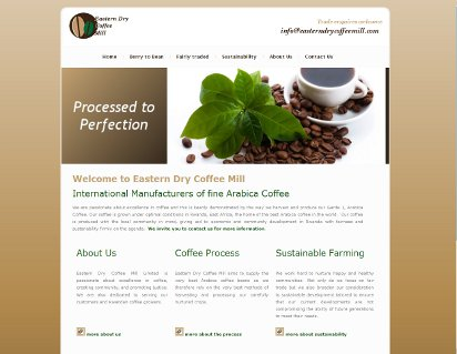 Eastern Dry Mill Coffee Mill case study